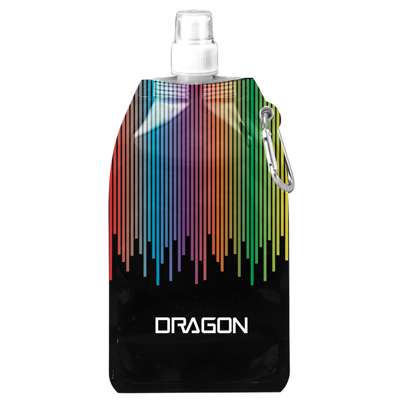 Rainbow Collapsible Water Bottle