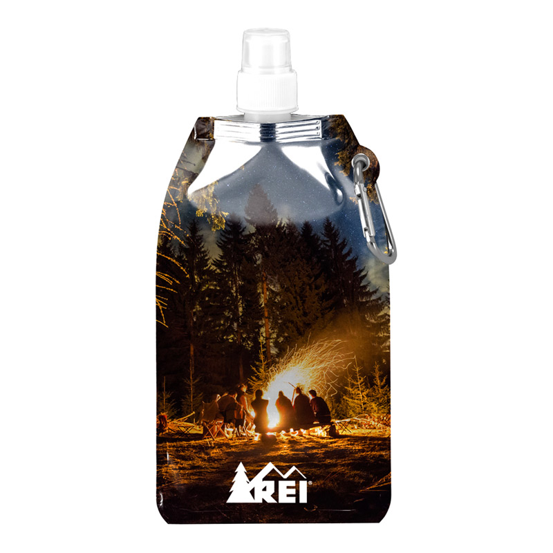 Full-Color Metro Collapsible Water Bottle