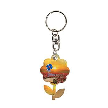 Acrylic Key Chain (Up to 5 sq. inches)