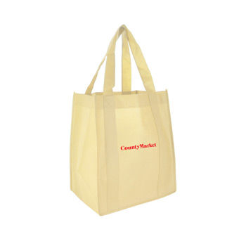 "13""d x 15""w x 22""h - 22"" Handle Shopping Tote"