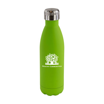 17 oz. Matte Soft Touch Steel Bottle