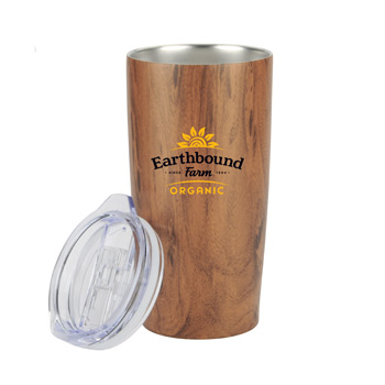 20 oz Wood Tone Stainless Steel Tumbler
