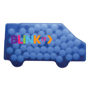 Truck Shaped Credit Card Mints (PAGE HAS OVERLAPPING TEXT) (discontinued SOLID WHITE) pf 8/28