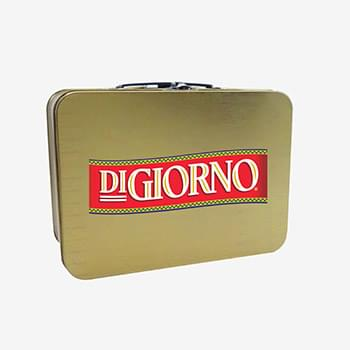 Brushed Gold Retro Lunchbox