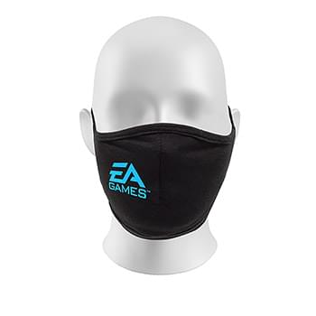 DOUBLE HEAD STRAP REUSABLE FACE MASK (DIRECT PRINT)