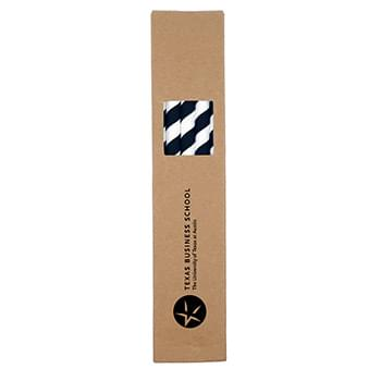 10 Pack Biodegradable Paper Straws in Paper Box (0.8 cm diameter)