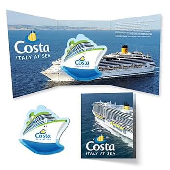 Tek Booklet 2 with Cruise Ship Magnet